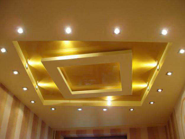 Типы подвесных потолков